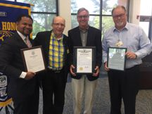 Proclamations at Kiwanis